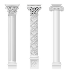 Set of classical columns vector