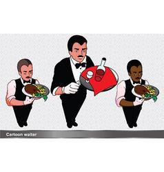 Waiter set vector
