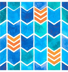 Watercolor arrows pattern vector