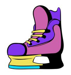 ice hockey skates icon icon cartoon vector image vector image