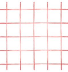 seamless pattern in red cell vector image