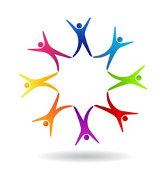 Star Friends Logo vector image