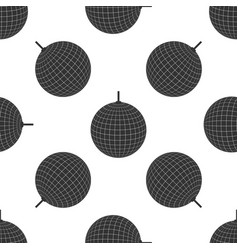 disco ball icon seamless pattern on white vector image