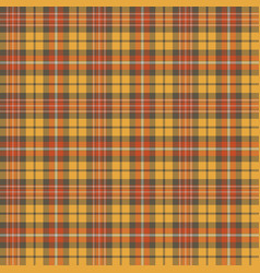 autumn tartan seamless pattern background vector image