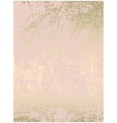 Chic blush pink gold trendy marble grunge texture vector