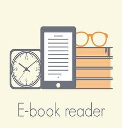 E book reader1 resize vector