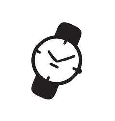 hand drawn watch doodle clocks artistic drawing vector image