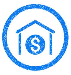 money storage rounded grainy icon vector image