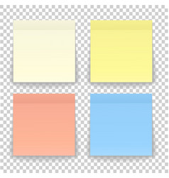 post note paper sheet or sticky sticker with vector image