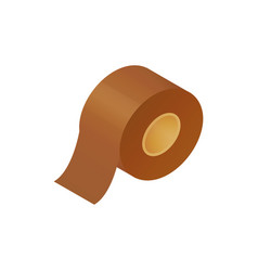 Sticky tape roll vector