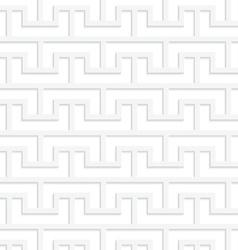 White 3D bracket grid vector