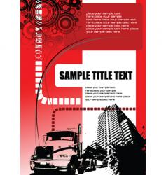 urban grunge background vector image vector image