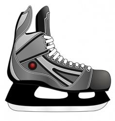 ice hockey skates vector image