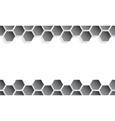 Abstract black and white seamless texture vector image