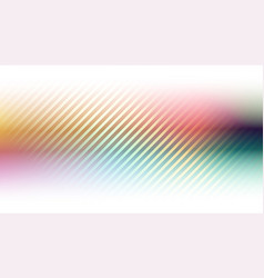 abstract colorful background with diagonal lines vector image