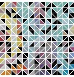 abstract geometric colored triangle grid vector image
