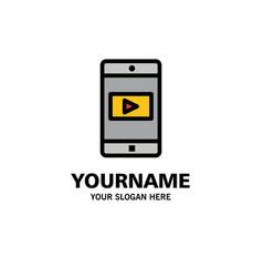 application mobile mobile application video vector image