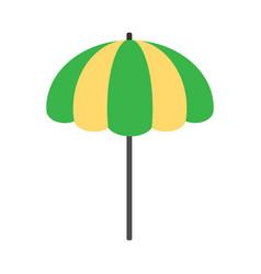 Beach umbrella icon vector