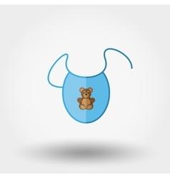 Bib Newborn clothes vector image