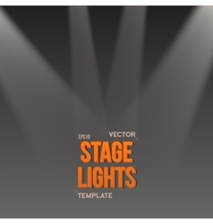 EPS10 Bright Stage Light Effect Stage vector image