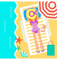 Holidays Umbrella vector image