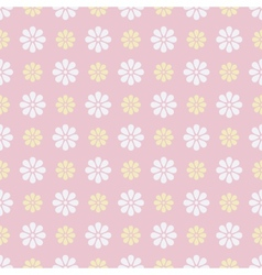 Nice seamless pattern tiling Sweet pink white vector