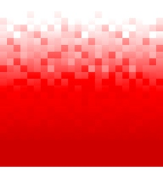 Red Pixel Background vector image