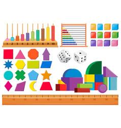 Set of math object vector