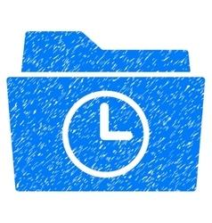 Temporary Folder Grainy Texture Icon vector