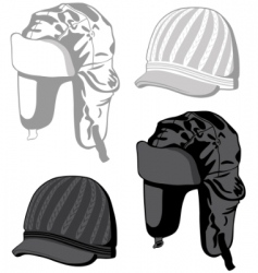 hats illustration vector image