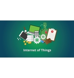 Iot internet of things concept vector
