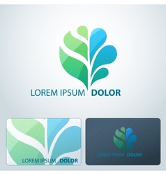 Logotype Ecology vector image vector image