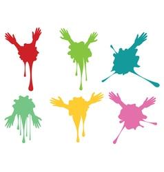 Cartoon Hands with Gestures8 vector
