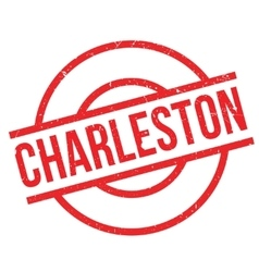 Charleston rubber stamp vector image
