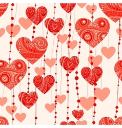 fantasy valentine background vector image