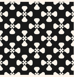 geometric pattern monochrome texture with smooth vector image