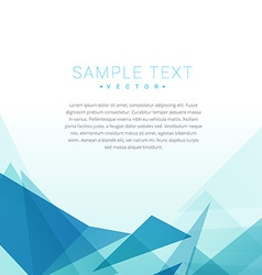 Geometric shapes background vector
