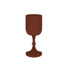 Isolated chalice icon vector