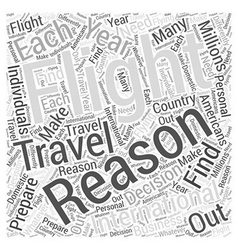 Preparing for Your International Flight Word Cloud vector