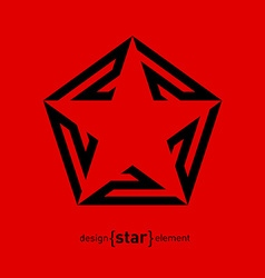 Star logo Award icon Logotype template vector