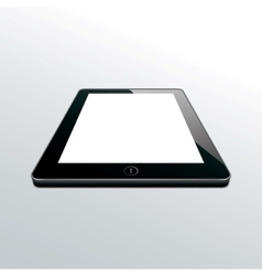 Tablet black vector