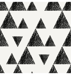 Triangles Seamless Pattern vector image