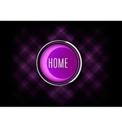 Home Button vector image