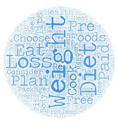 How to Choose a Weight Loss Plan text background vector image vector image