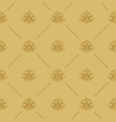 wallpaper seamless baroque vector image vector image