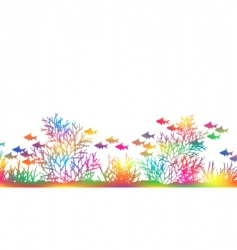 color coral vector image vector image