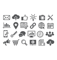 Seo icons vector