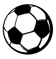 soccer ball icon icon cartoon vector image vector image