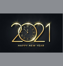 Happy new year 2021 new year background vector