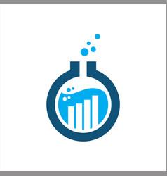 icon logo marketing labs vector image